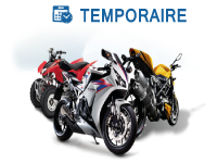 moto temporaire